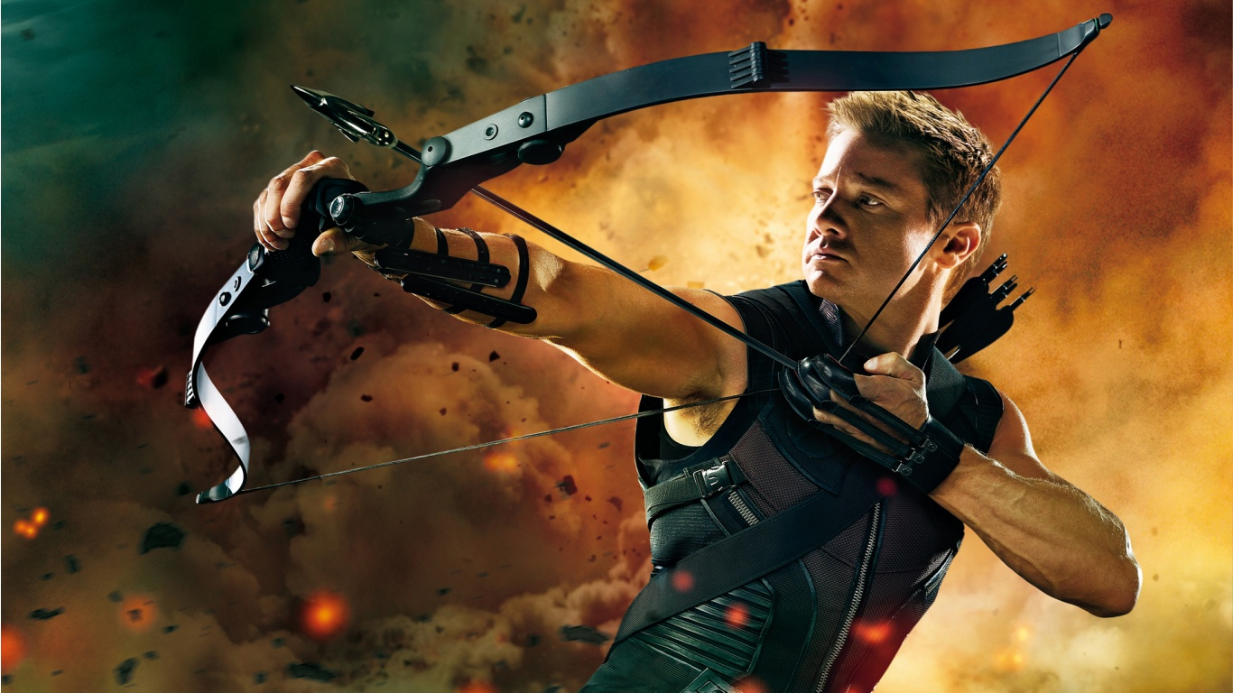 Good Wallpaper Marvel Bomb - hawkeye_in_the_avengers-1366x768  Collection_682886.jpg
