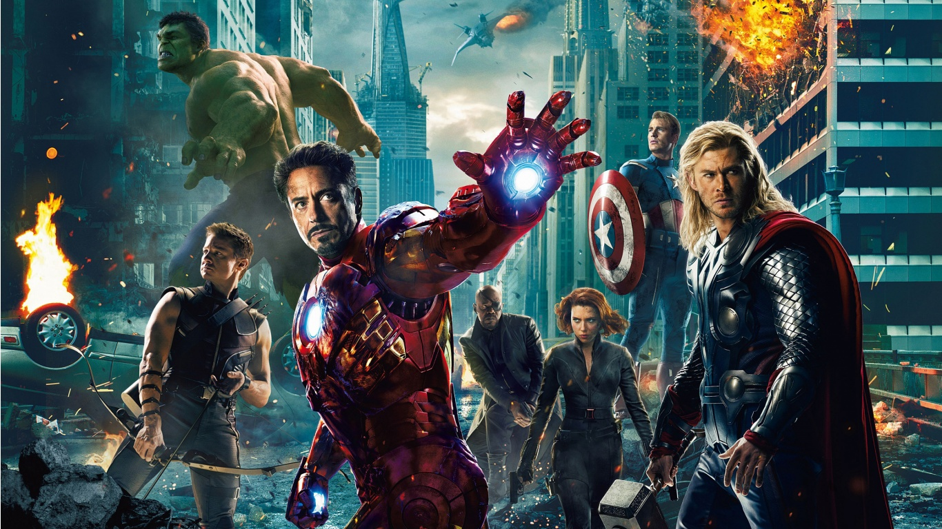 Makkhi 2012 Movie Hd Wallpapers And Review: The Avengers: My Short Movie Review + Free HD Wallpapers